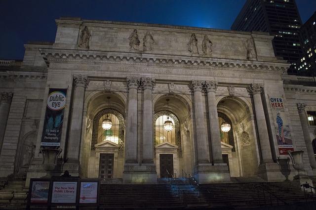 المكتبة العامة في نيويورك - التخصصات الجامعية للدراسة في امريكا