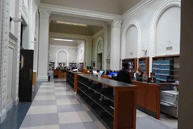 مكتبة الجامعة الداخلية