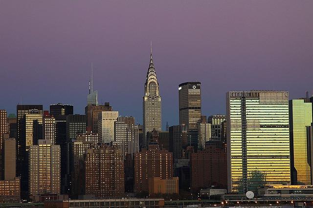 تصوير سحابي لمدينة مانهاتن