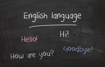 اللغة الانجليزية في أمريكا
