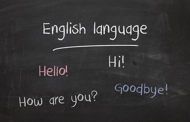 اللغة الإنجليزية في أمريكا