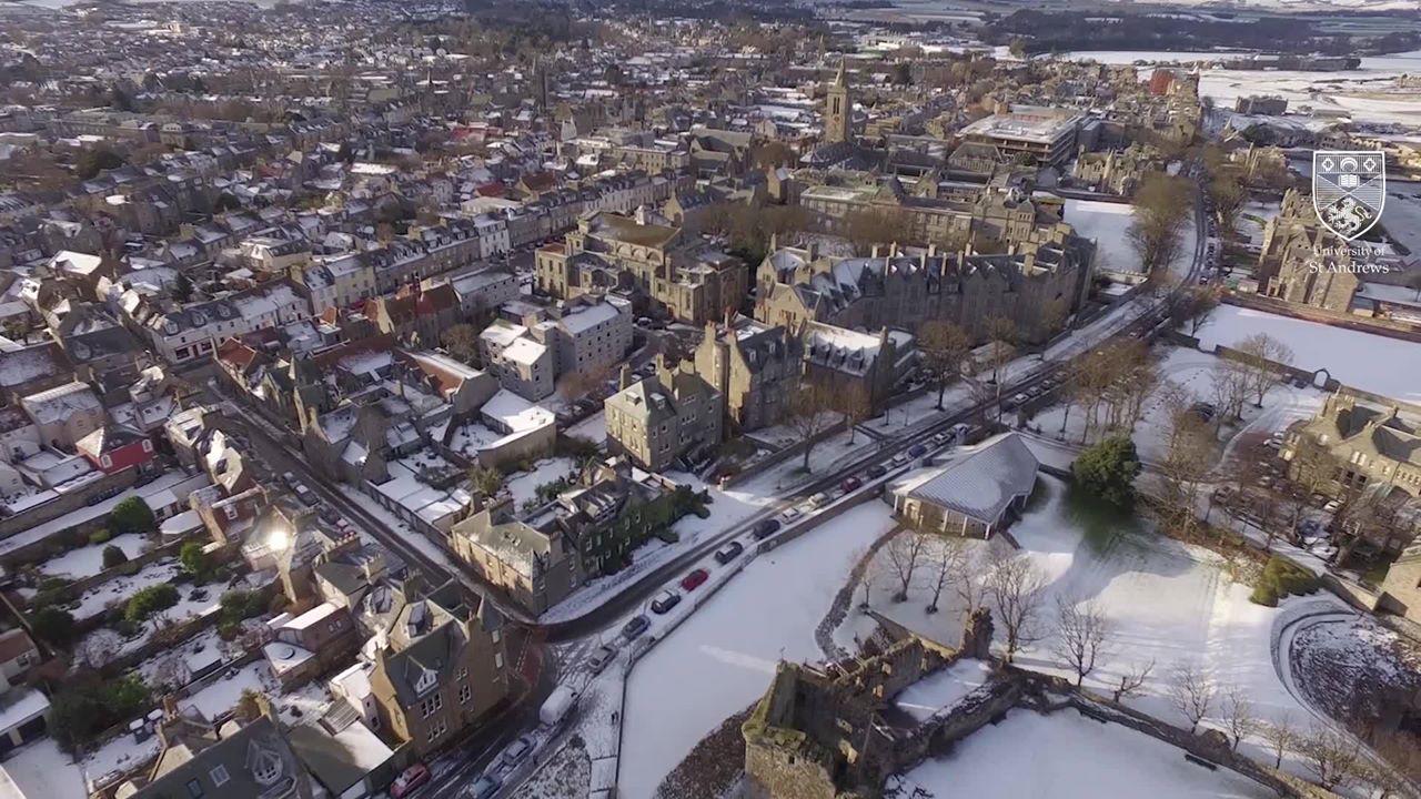 جامعة سانت أندروز – The University of St Andrews