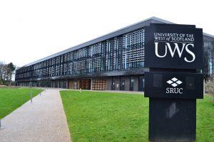 جامعة غرب اسكتلندا -  The University of the West of Scotland
