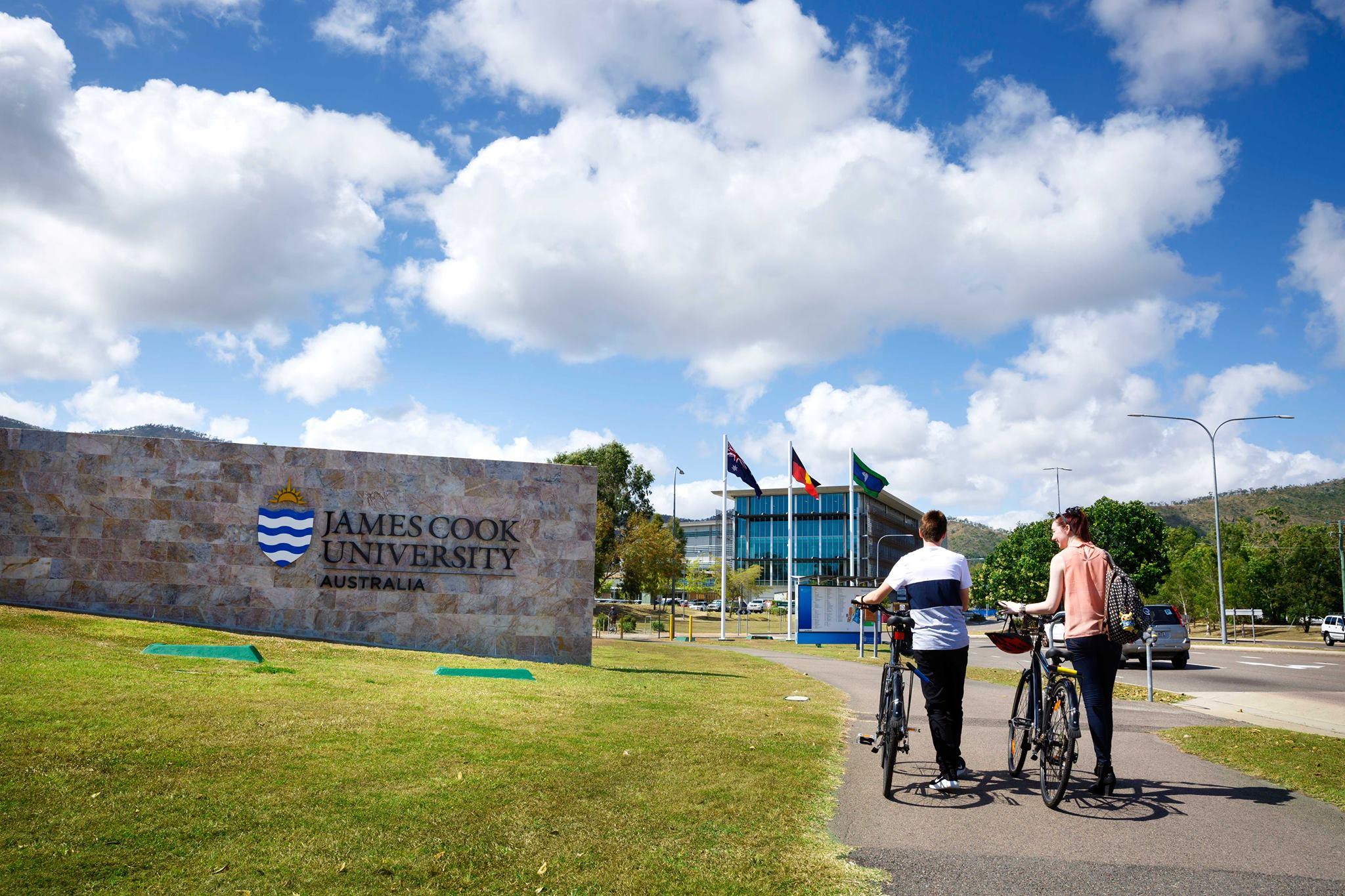 جامعة جيمس كوك – JAMES COOK UNIVERSITY-JCU
