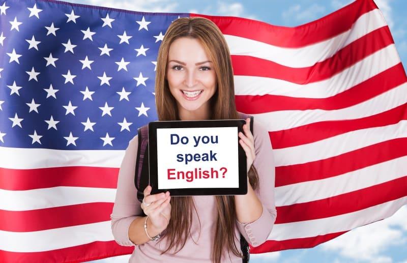 شروط دراسة اللغة الانجليزية في أمريكا